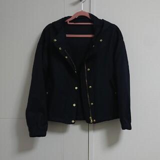 ジーユー(GU)のGU パーカージャケット Sサイズ(ブルゾン)