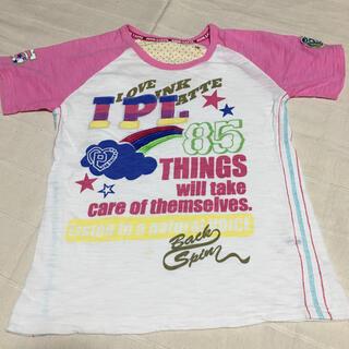 ピンクラテ(PINK-latte)のピンク ラテ   半袖Tシャツ   サイズS (160)  (Tシャツ/カットソー)