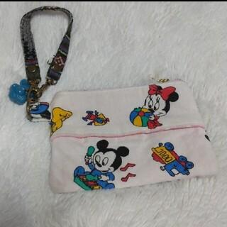 ディズニー(Disney)のハンドメイド ポケットティッシュケース ビンテージシーツ(ポーチ)