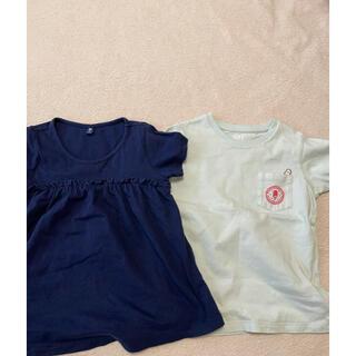 ユニクロ(UNIQLO)のユニクロ120サイズ  セット(Tシャツ/カットソー)