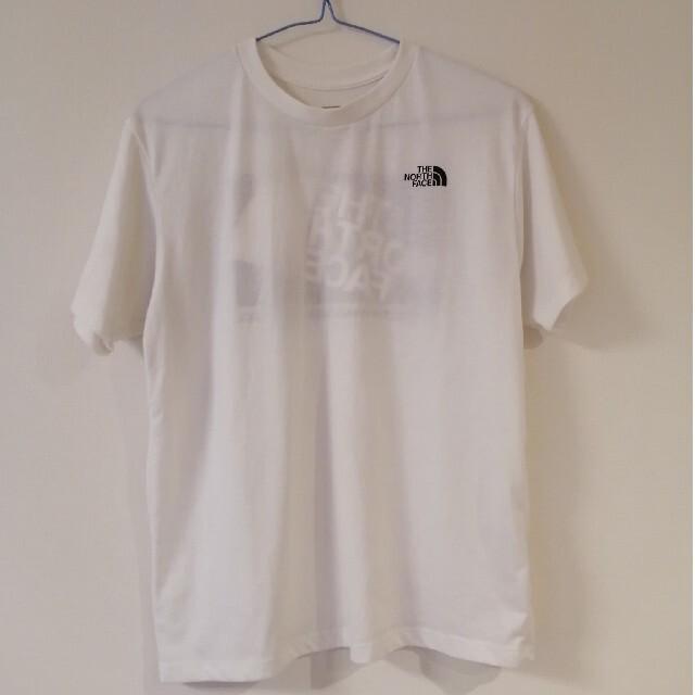 THE NORTH FACE(ザノースフェイス)のザノースフェイス Tシャツ 白×黒 メンズのトップス(Tシャツ/カットソー(半袖/袖なし))の商品写真