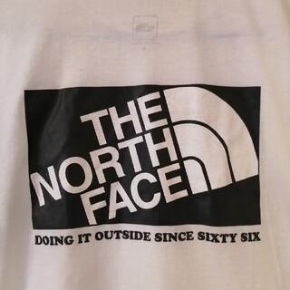 THE NORTH FACE - ザノースフェイス Tシャツ 白×黒