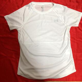 アンダーアーマー(UNDER ARMOUR)のお値下げアンダーアーマーの白のTシャツ☆(ウェア)