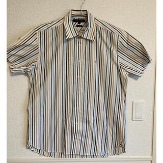 トミーヒルフィガー(TOMMY HILFIGER)の【美品】TOMMY HILFIGER  ストライプシャツ(シャツ)