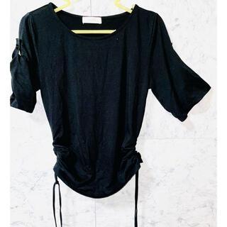 エニィスィス(anySiS)のanySiS 半袖Tシャツ 黒(Tシャツ(半袖/袖なし))