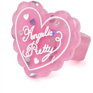 Angelic Pretty - Angelic Pretty トッピングハートリング  ピンク