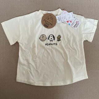 SNOOPY - しまむら スヌーピー ベビー キッズ Tシャツ バースデイ