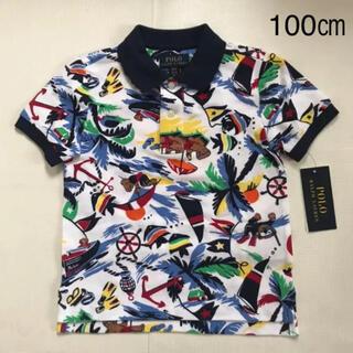 Ralph Lauren - 【今季新作】 ラルフローレン ポロベア メッシュシャツ100