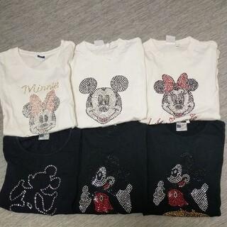 ディズニー(Disney)のミッキーマウスミニーマウスTシャツ(Tシャツ(半袖/袖なし))