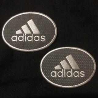 adidas アディダス 2枚セット アイロンワッペン ワッペン 刺繍ワッペン