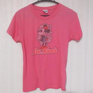 ディズニー(Disney)の❤︎ミニーちゃん Tシャツ ピンク 半袖❤︎(Tシャツ(半袖/袖なし))