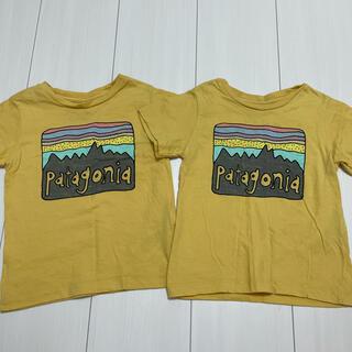 パタゴニア(patagonia)の【ゆま⭐︎様 専用】パタゴニア Tシャツ 2枚セット 双子(Tシャツ)