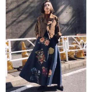 Ameri VINTAGE - アメリヴィンテージ  フラワー スカート