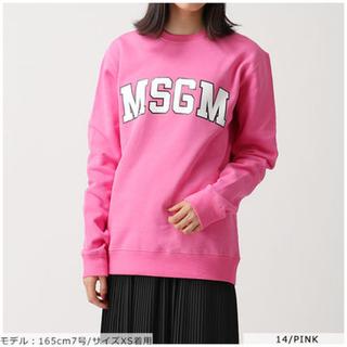 エムエスジイエム(MSGM)のMSGM トレーナー スウェット(トレーナー/スウェット)