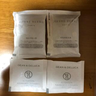 ディーンアンドデルーカ(DEAN & DELUCA)の保冷剤4個セット DEAN &DELUCA  ピエールエルメ 各2個(弁当用品)