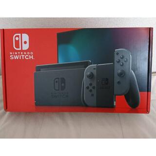 Nintendo Switch - 任天堂スイッチグレー本体 中古