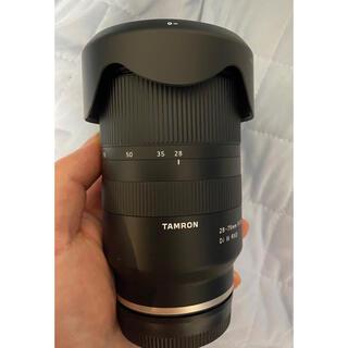 タムロン(TAMRON)のタムロン  28-75mm F/2.8 Di III RXD テスト使用のみ(レンズ(ズーム))