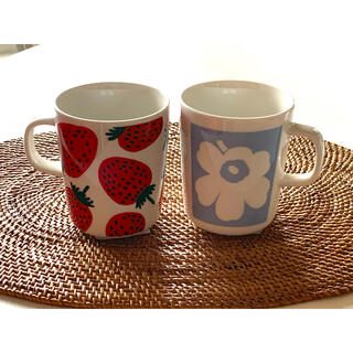 marimekko - 新品!マリメッコ☆CO-CREATED&マンシッカ マグカップ♪