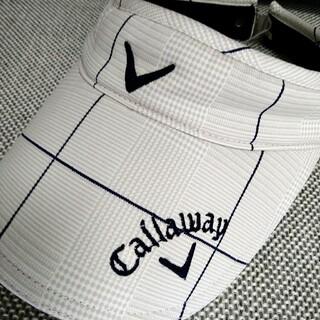 Callaway Golf - 美品 キャロウェイ レディース サンバイザー バイザー