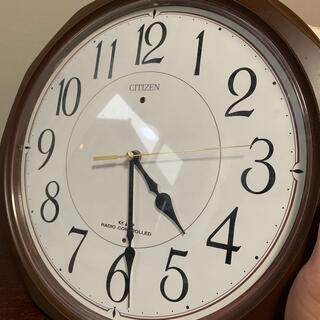 シチズン(CITIZEN)のcitizen 電波時計(掛時計/柱時計)