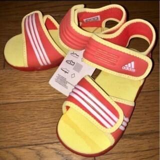 アディダス(adidas)の新品 adidas アディダス♪キッズ ビーチサンダル 靴 16cm(サンダル)