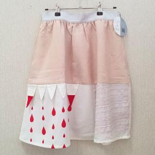 ボシュプルメット(bortsprungt)のメラントリックヘムライト カミツキスカート MELANTRICK 新品(ミニスカート)