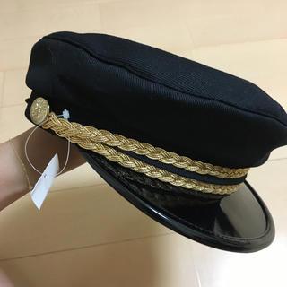 タカラヤ(Takaraya)のタグ付きポリス帽(キャスケット)
