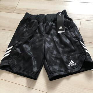 アディダス(adidas)の【新品】アディダス ハーフパンツ 150 ブラック(パンツ/スパッツ)