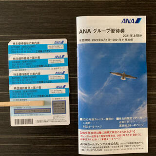 エーエヌエー(ゼンニッポンクウユ)(ANA(全日本空輸))のANA 株主優待 飛行機(航空機)