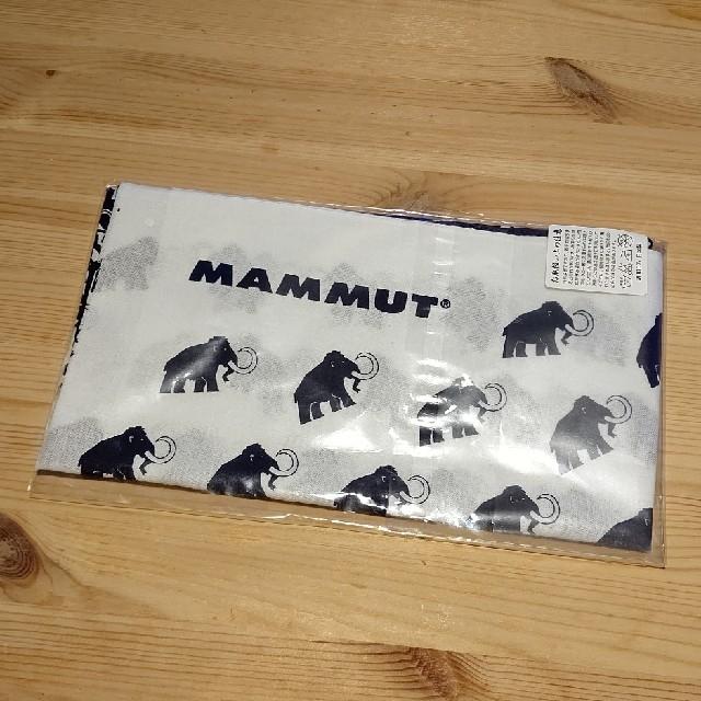Mammut(マムート)のMAMMUT 手ぬぐい 未使用  スポーツ/アウトドアのアウトドア(登山用品)の商品写真