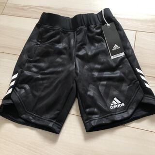 アディダス(adidas)の【新品】アディダス ハーフパンツ ブラック 120(パンツ/スパッツ)