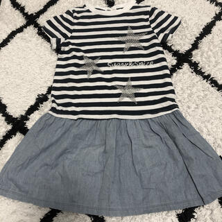 GU - 子供服ワンピース120センチ