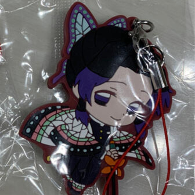 BANDAI(バンダイ)の鬼滅の刃 ラバーストラップ ラバーマスコット7 胡蝶しのぶ エンタメ/ホビーのおもちゃ/ぬいぐるみ(キャラクターグッズ)の商品写真