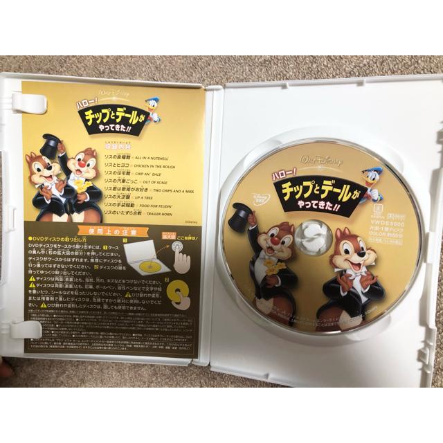 チップ&デール(チップアンドデール)のハロー!チップとデールがやってきた!! DVD Disney ディズニー エンタメ/ホビーのDVD/ブルーレイ(キッズ/ファミリー)の商品写真