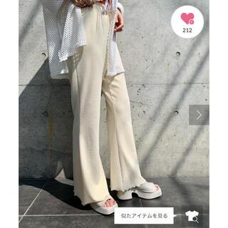 Kastane - カスタネ  【Kastane】MELLOW FLARE PANTS