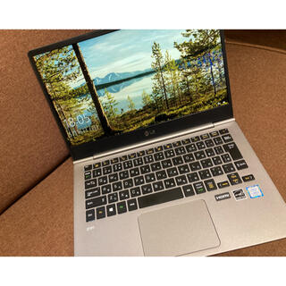 LG gram ノートパソコン 13.3in 965g 13Z980-GA56J