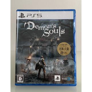 プレイステーション(PlayStation)の【未開封新品】PS5 Demon's Souls(家庭用ゲームソフト)