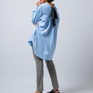 ダブルスタンダードクロージング(DOUBLE STANDARD CLOTHING)の新品 ダブスタ sov. LAZER BROAD RGブラウス(シャツ/ブラウス(長袖/七分))