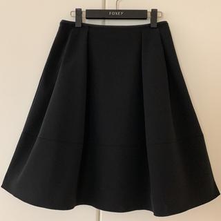 FOXEY - ♡極美品♡ FOXEY バロン スカート 希少 黒 ブラック 40