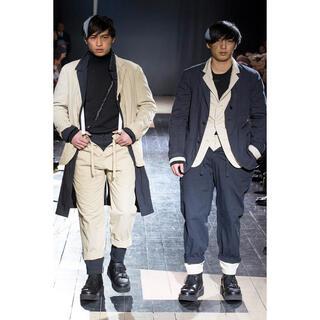 ヨウジヤマモト(Yohji Yamamoto)の新品 ヨウジヤマモトプールオム 15aw 肩あきファスナージャケット(テーラードジャケット)