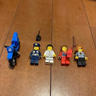 レゴ(Lego)のレゴ  フィギュア 警察 泥棒 バイク(積み木/ブロック)