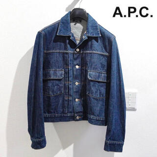 アーペーセー(A.P.C)のA.P.C アーペーセー デニムジャケット Gジャン メンズ Sサイズ(Gジャン/デニムジャケット)