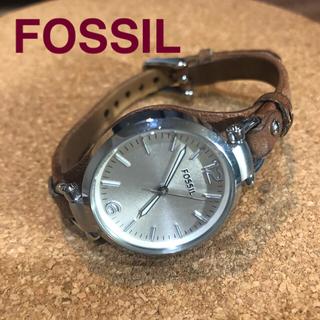フォッシル(FOSSIL)の【ワックス磨き付】FOSSIL フォッシル GEORGIA ジョージア(腕時計)