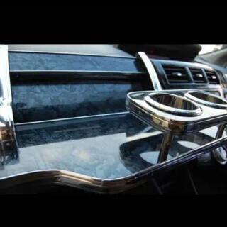 トヨタ - プリウスα ZVW40 フロント テーブル 黒木目調