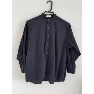 インディヴィジュアライズドシャツ(INDIVIDUALIZED SHIRTS)のINDIVIDUALIZEDSHIRTS バンドカラースモックシャツ(シャツ/ブラウス(長袖/七分))
