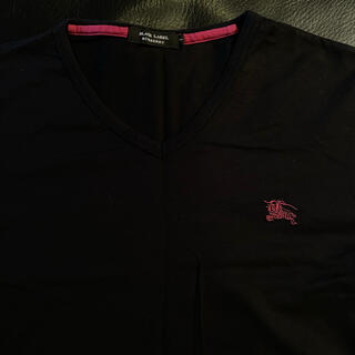 BURBERRY BLACK LABEL - バーバリーブラックレーベルTシャツ size2