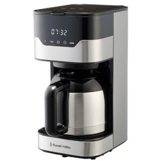 ラッセルホブス コーヒーメーカー グランドリップ 8杯 ペーパーフィルター不要(コーヒーメーカー)