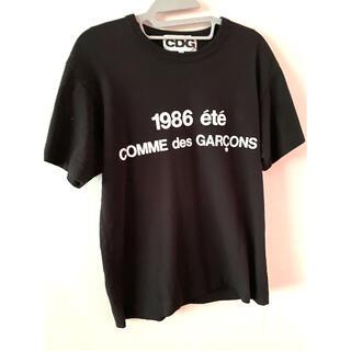 コムデギャルソン(COMME des GARCONS)の美品 CDG コムデギャルソン Tシャツ♪黒M(Tシャツ/カットソー(半袖/袖なし))
