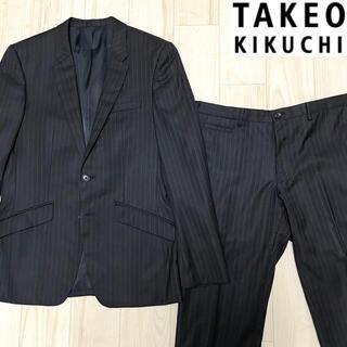 タケオキクチ(TAKEO KIKUCHI)の【used】TAKEO KIKUCHI Stripe suit set up(セットアップ)