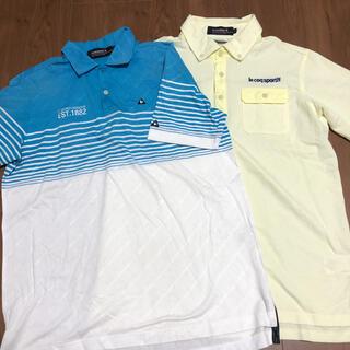 le coq sportif - ルコックゴルフ メンズポロシャツセット
